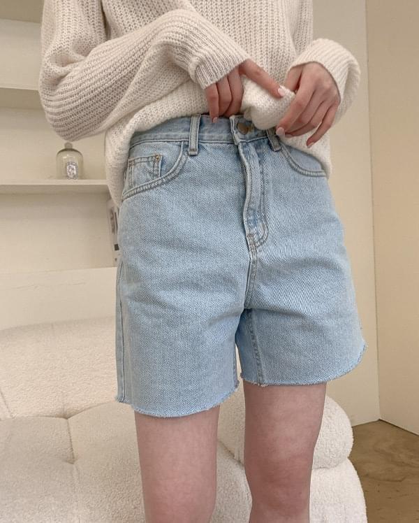 Selina denim shorts