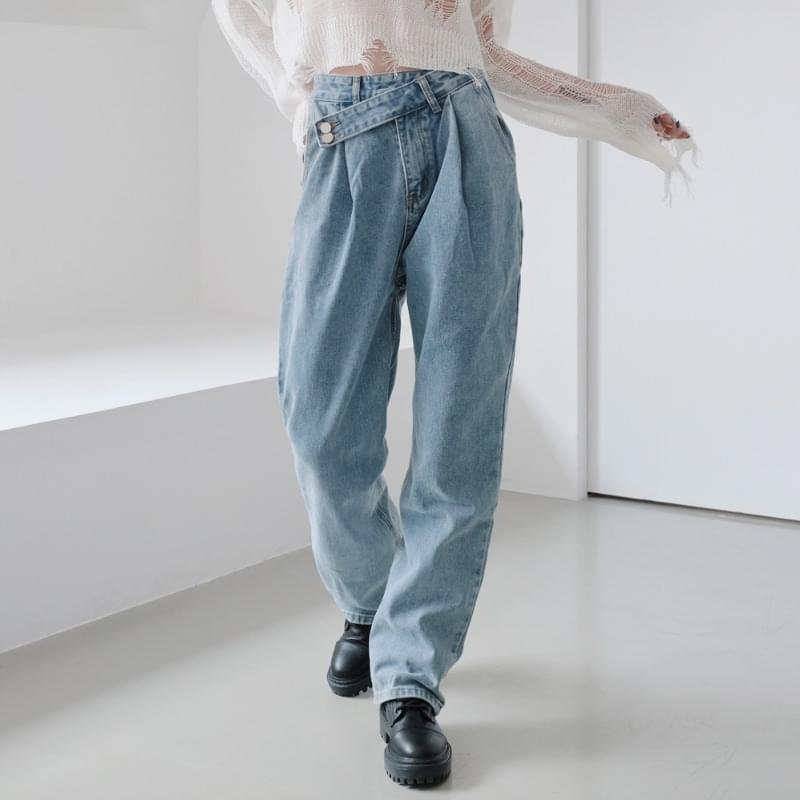 Mui Unfoot Denim Pants