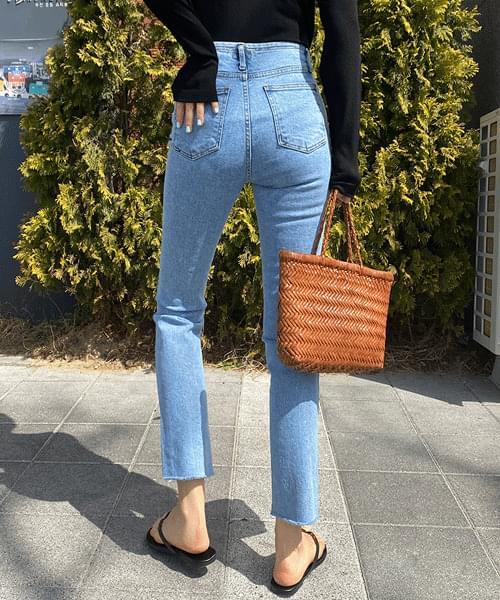 Noobi Four Button Slim Date Jeans