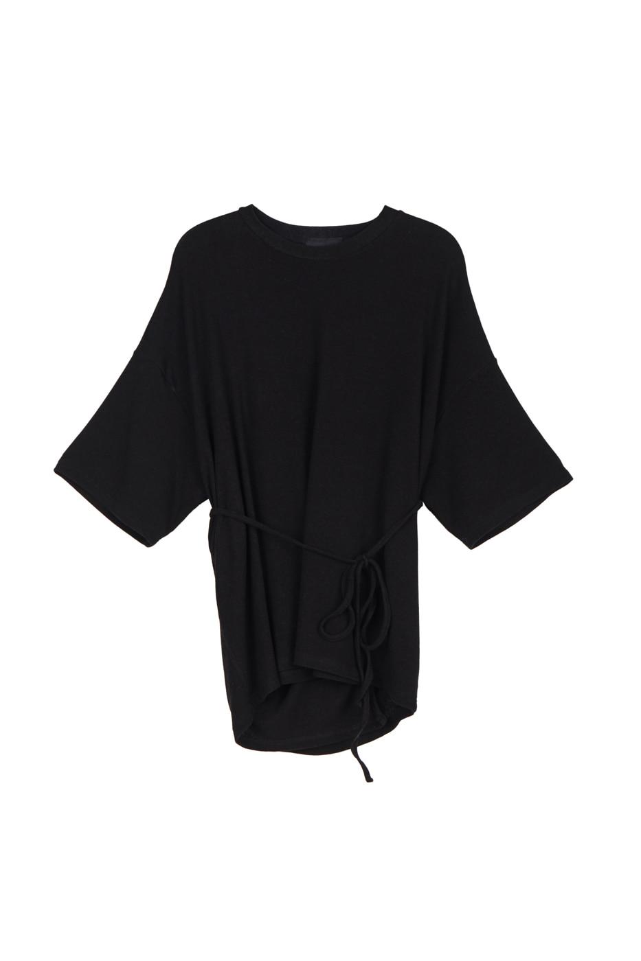 Boss strap wrap T-shirt