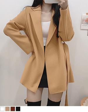 Zagling Short Coat Handmade Wool Jacket