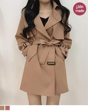 Hanney Brick Trench Barbary_Beige