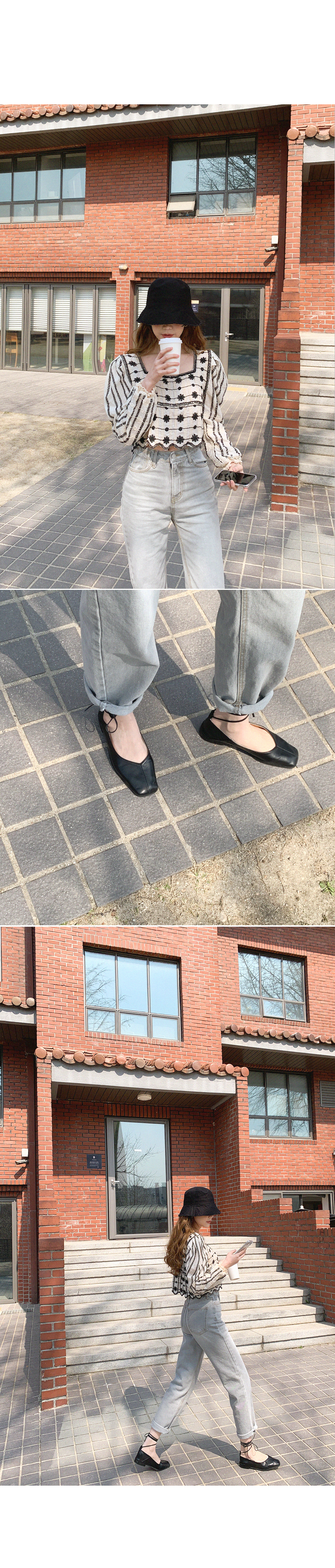 Pilso Good Strap Flat Shoes