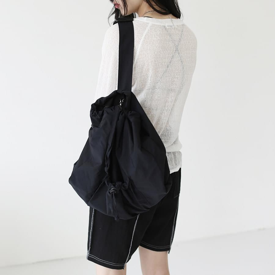 String one shoulder backpack