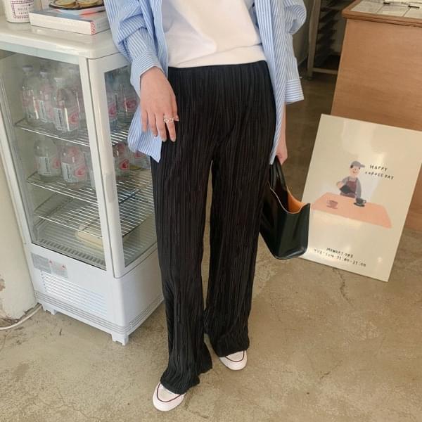 Dazen pleated banding pants 長褲