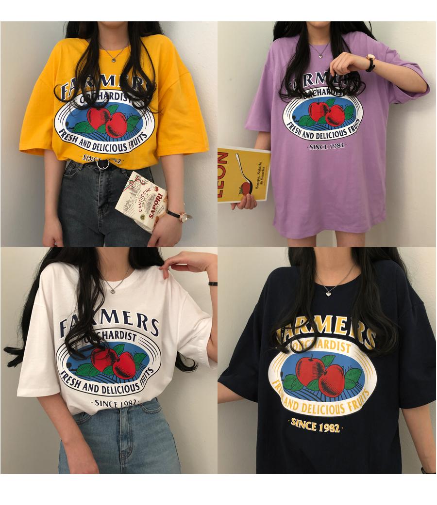 Farmers Overfit Unisex Short Sleeve T-Shirt