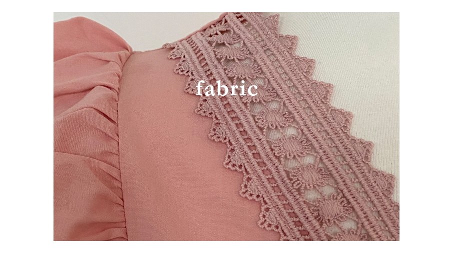 Angel frill lace wing blouse