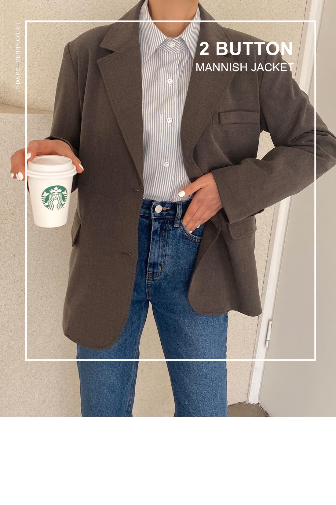Void mannish jacket