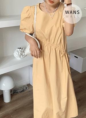 op4187 nimb diagonal string long Dress