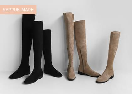 Serion Spandex Long Boots