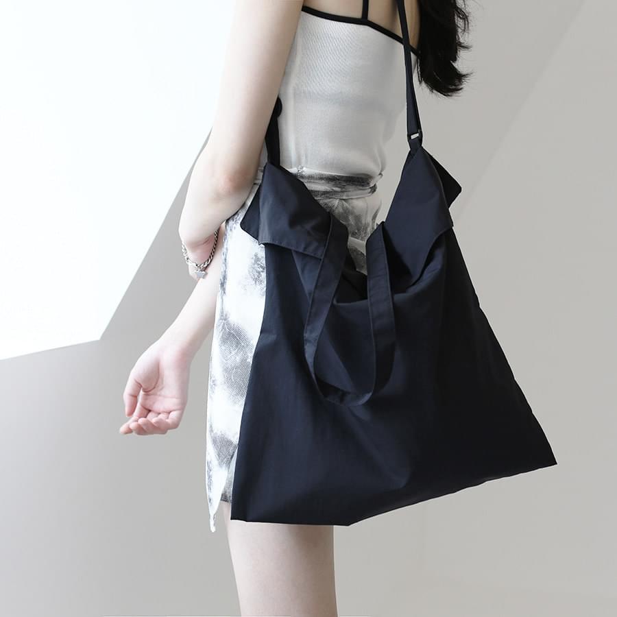 Lency nylon cross-body bag
