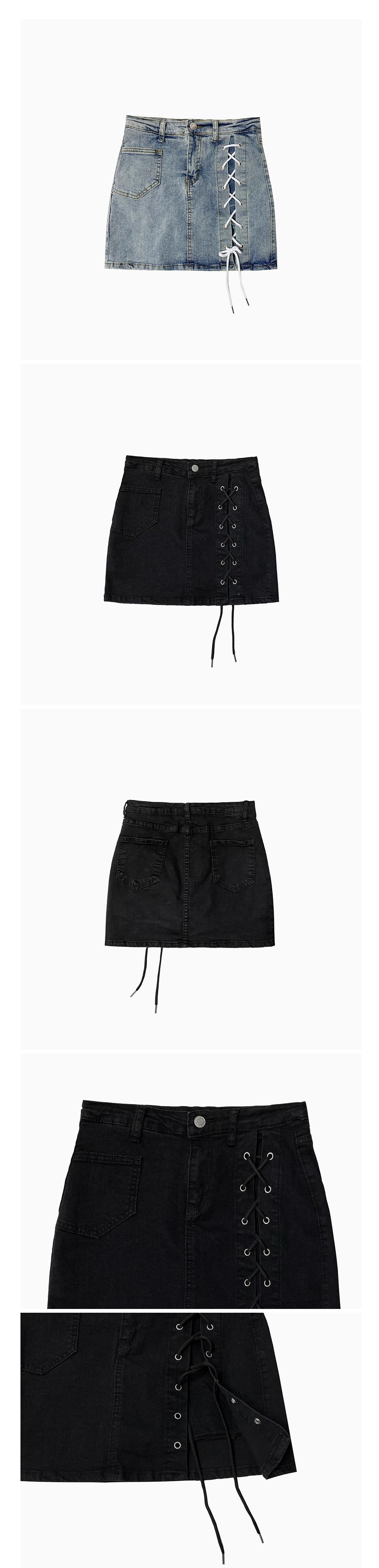 Hako Eyelet Skirt Pants