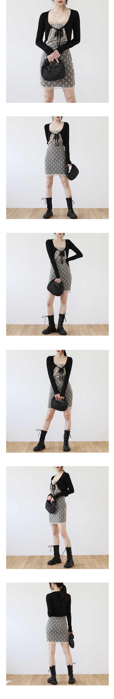 Lever net chain bag