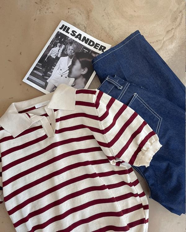 Levo Part 5 Striped Knitwear