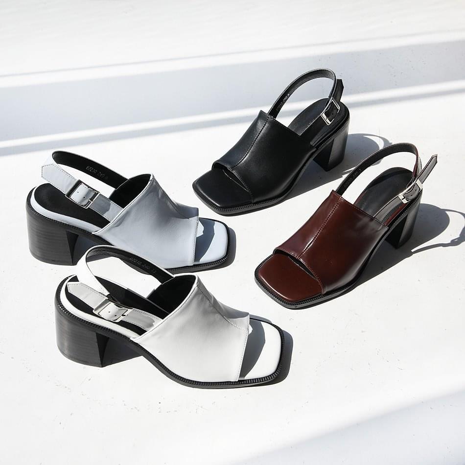 Charm Fit Slingback Sandals 7cm