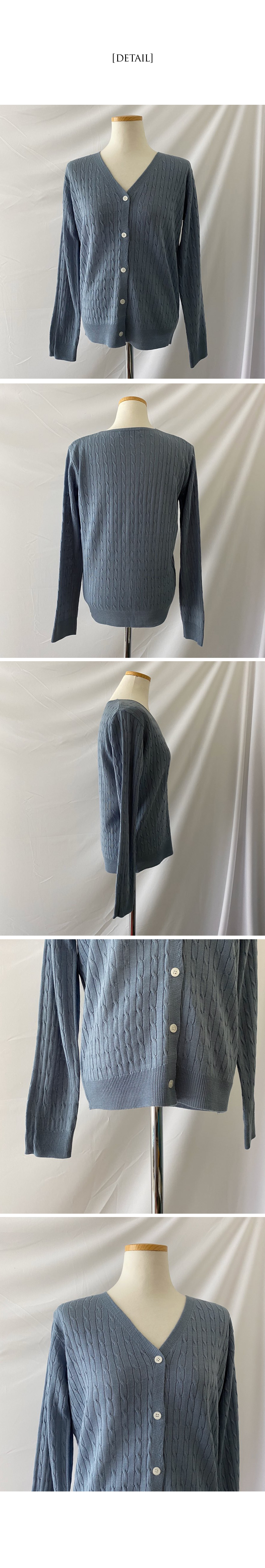 Belle Twisted cardigan