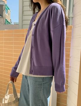 Brunch V-Neck Knitwear Cardigan