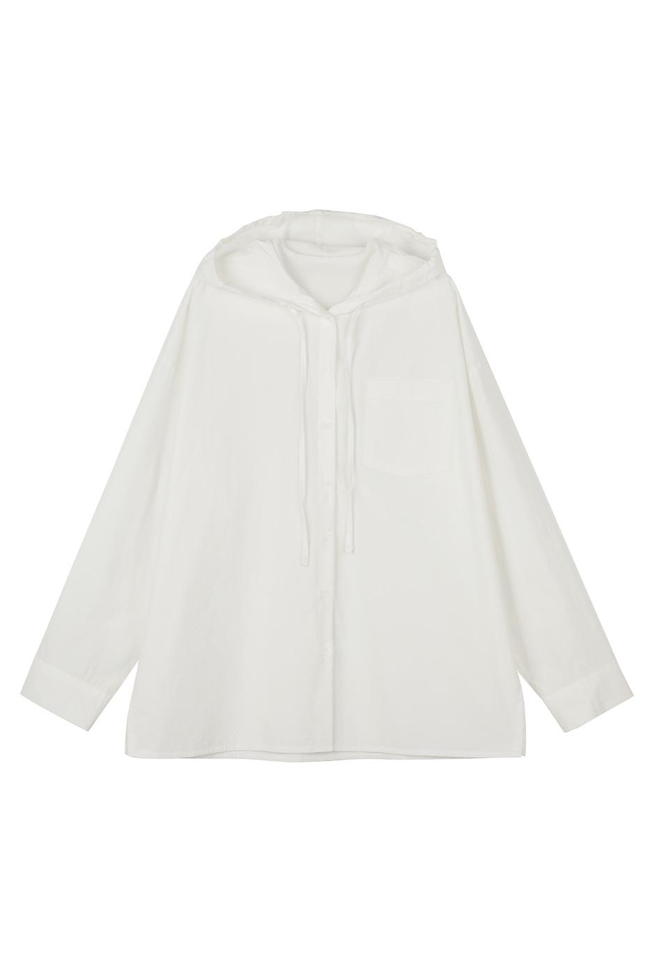 Delight hooded shirt