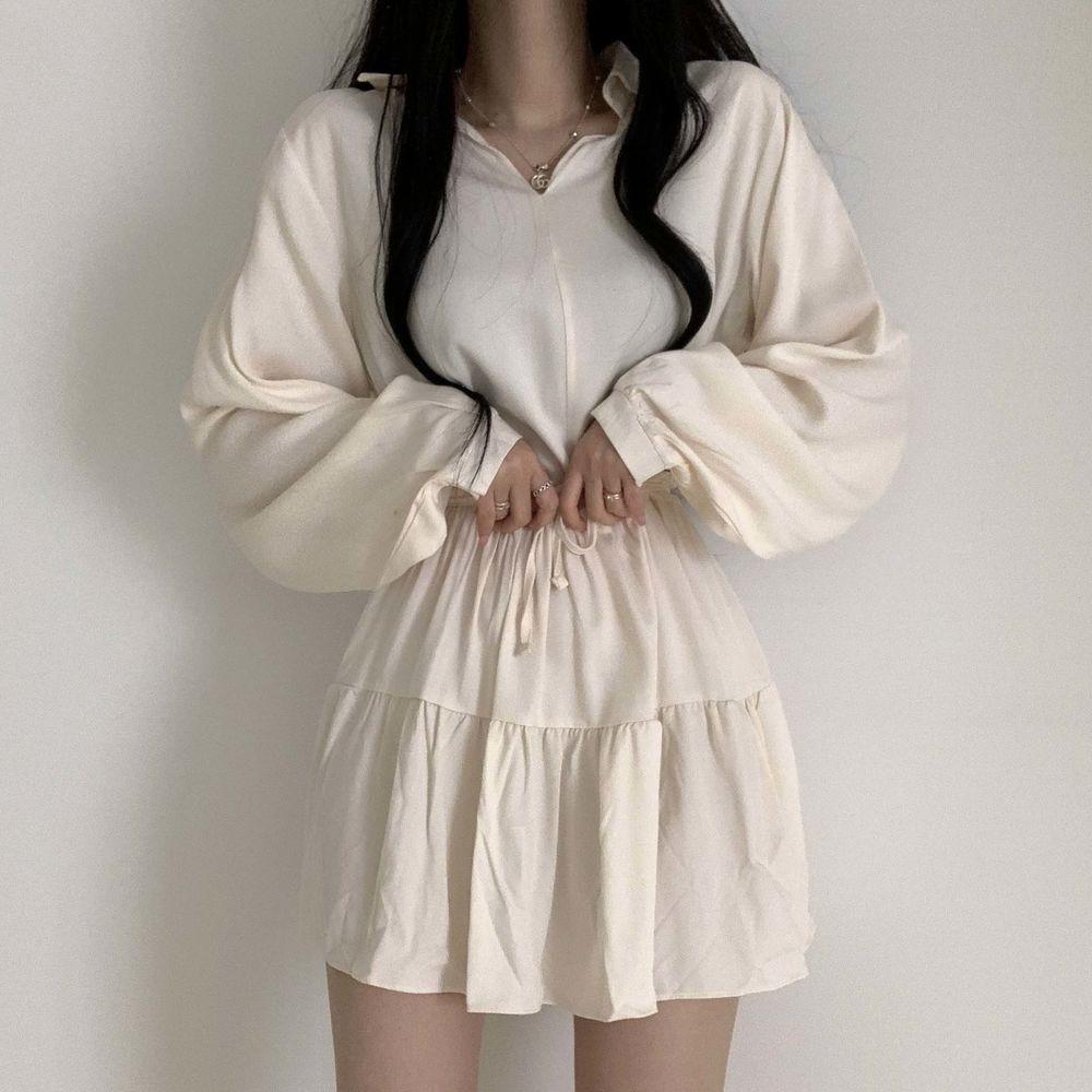 Shirring Dress Until Summer