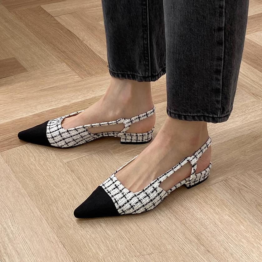 Roini slingback flat shoes