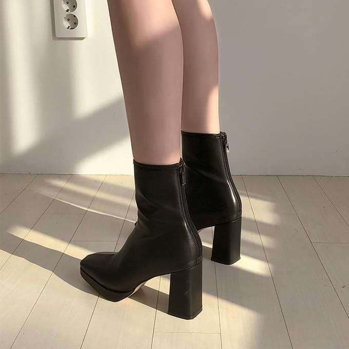 Crame tall ankle boots shoes 靴子