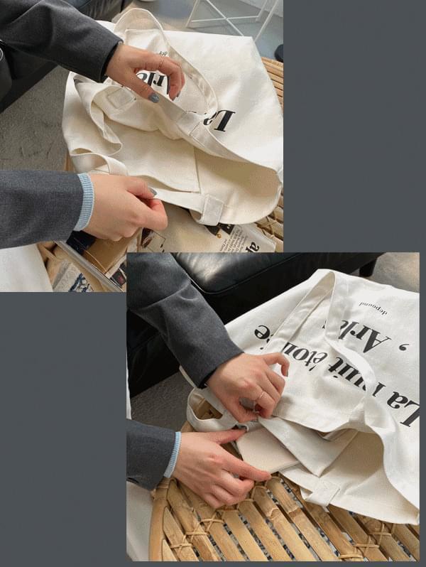 Arles cotton eco bag -2color