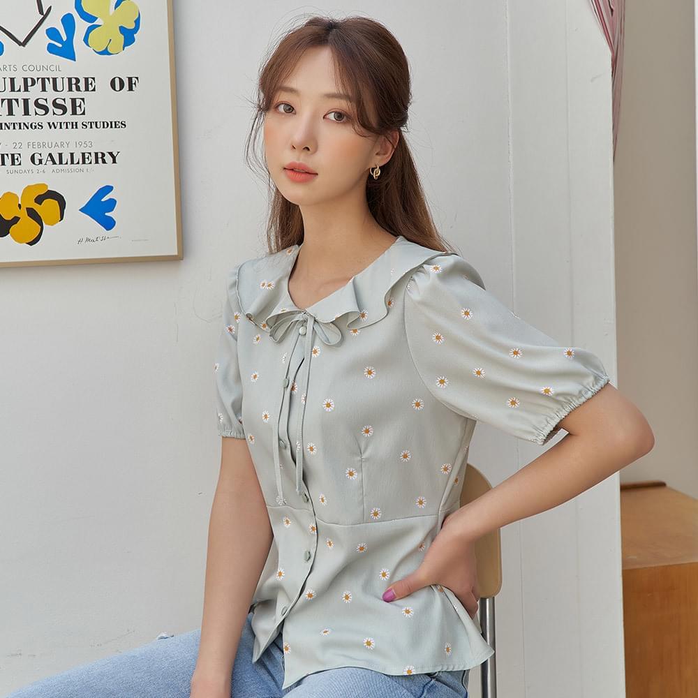 Daisy collar blouse