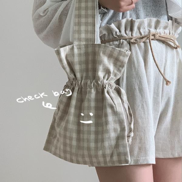 Mini demodulated tote bag