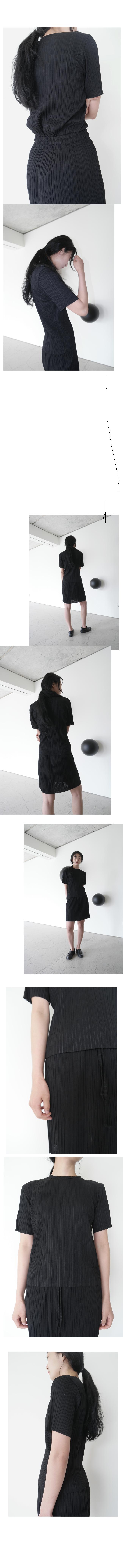 jaunty pleats set - skirt only