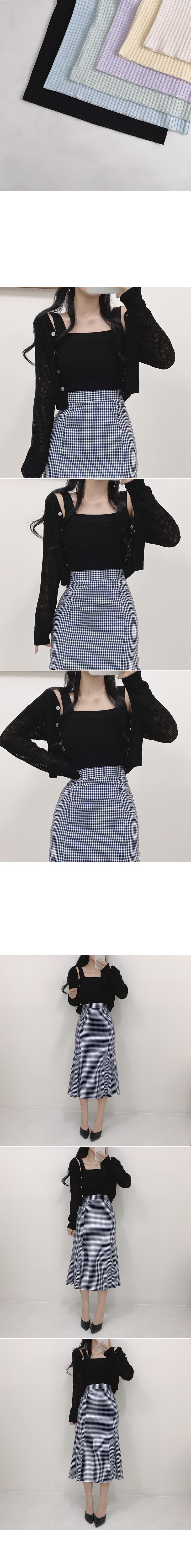 Celine Ribbed Knitwear Sleeveless Top