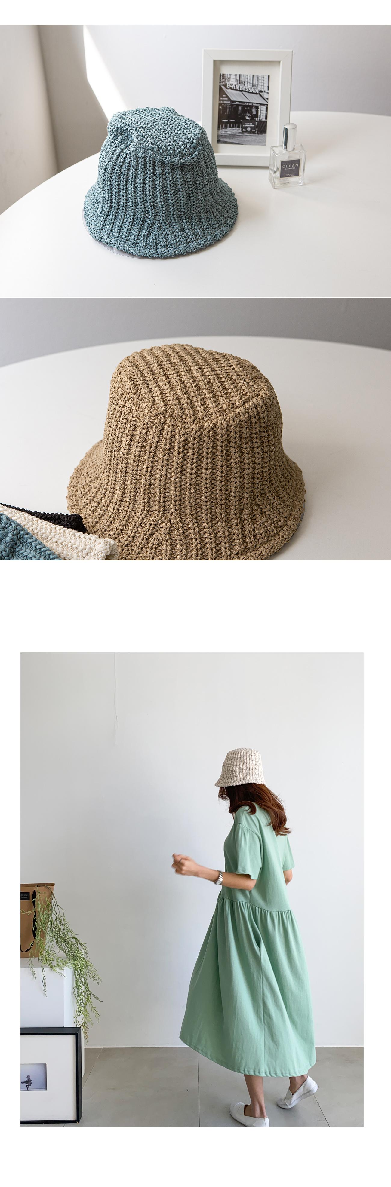 Plain Bucket Hat #86500