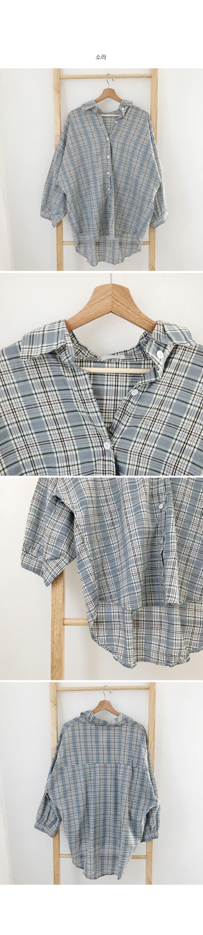 Vintage Check Overfit Shirt