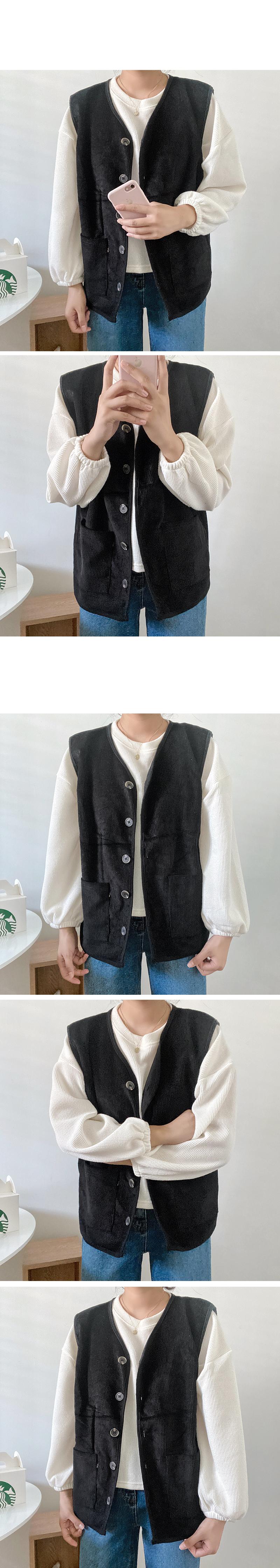 Izu Corduroy Vest