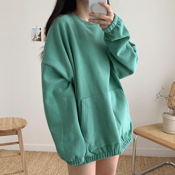 韓國空運 - Buffett flip flops five Sweatshirt 長袖上衣