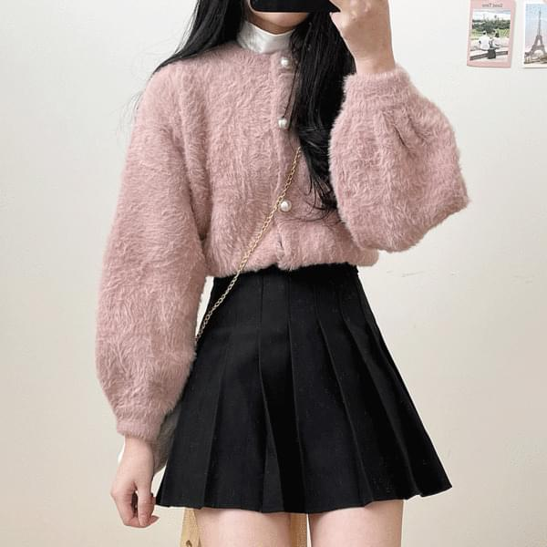 Lovely fur cardigan