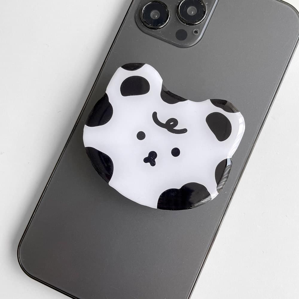 Cow Baby Shape Epoxy Grip Smart Tok Holder