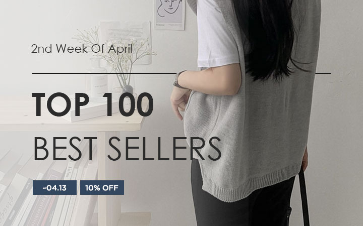 TOP 100 BEST SELLERS - 2nd Week Of April