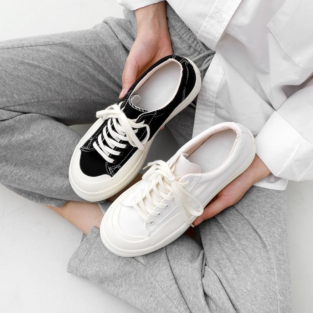 Issu Daily Lace-up Socks Heel Sneakers 10907 球鞋/布鞋