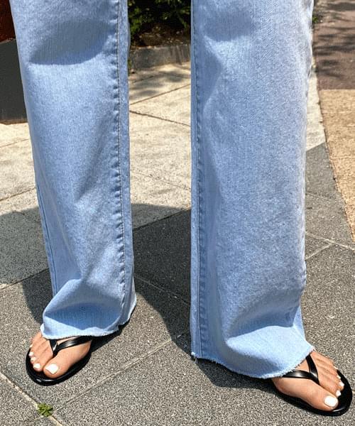 Kind high waist wide jeans