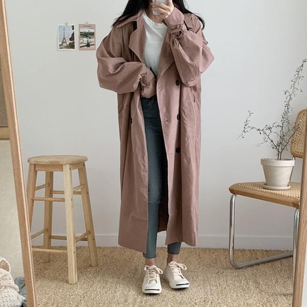 Elfin trench coat