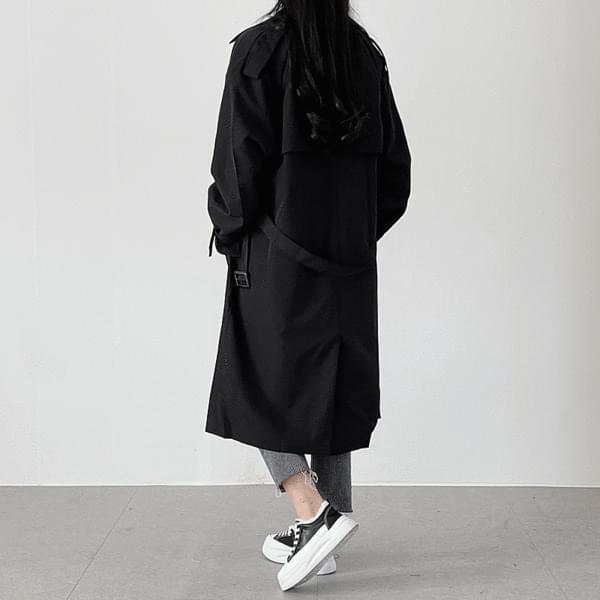 Double trench coat