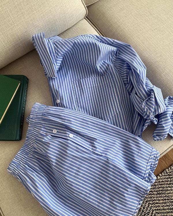 Henne Stripe Homewear Set