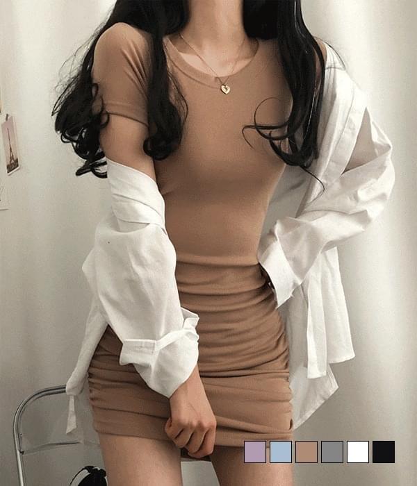 Shiny mini Dress