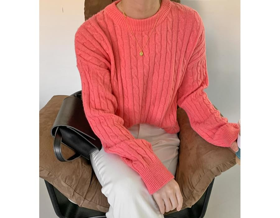 Tart Cable Round Knitwear