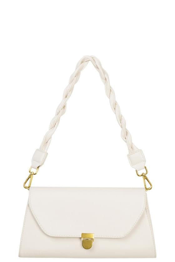 Make-buckle shoulder bag