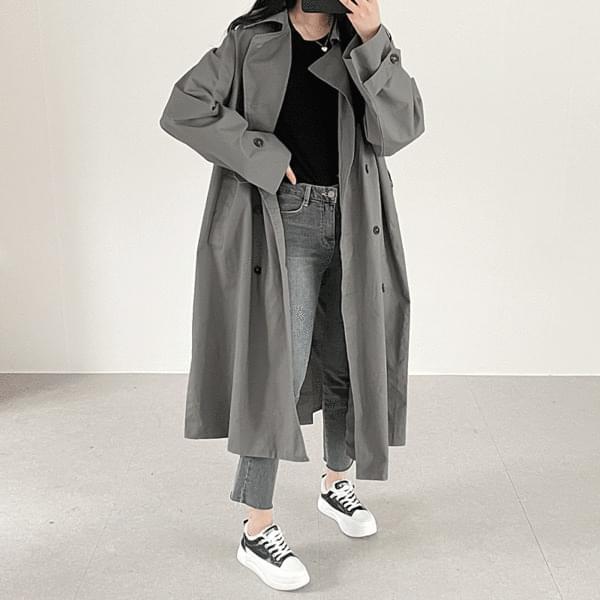 Dodo long trench coat