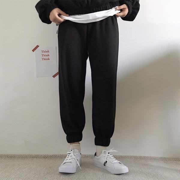 韓國空運 - Sweatshirt+ Jogger Pants Training Set 套裝