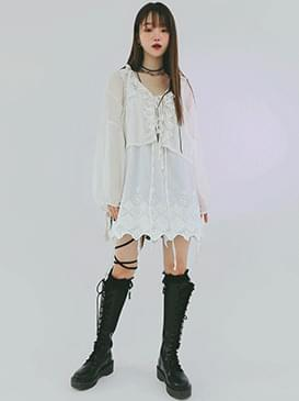Lacy Ronnie Eyelet Blouse
