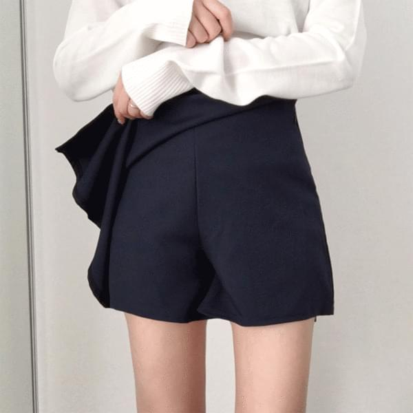 Unfooted skirt