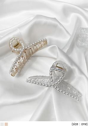 Loop Accent Embellished Hair Clamp